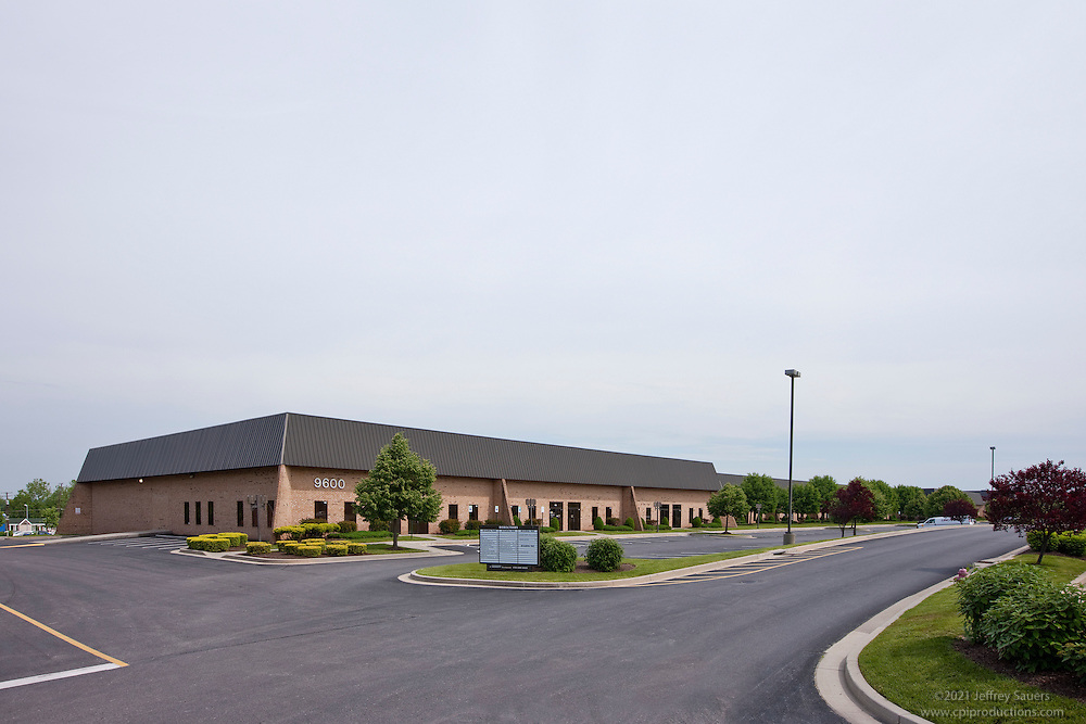 Exterior images of 9600-9611 Pulaski Park Dr. in the Pulaski Business Park of Baltimore, MD for Merritt Properties