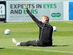 Bristol Rovers' Steve Mildenhall - Photo mandatory by-line: Neil Brookman/JMP - Mobile: 07966 386802 - 18/04/2015 - SPORT - Football - Dover - Crabble Athletic Ground - Dover Athletic v Bristol Rovers - Vanarama Football Conference