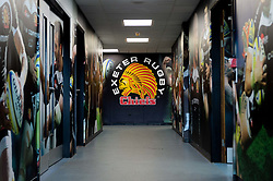 The Exeter Chiefs tunnel prior to kick off - Mandatory by-line: Ryan Hiscott/JMP - 19/10/2019 - RUGBY - Sandy Park - Exeter, England - Exeter Chiefs v Harlequins - Gallagher Premiership Rugby