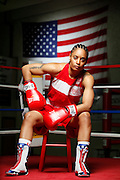6/24/11 2:40:40 PM -- Colorado Springs, CO. -- A portrait of U.S. Olympic lightweight boxer Queen Underwood, 27, of Seattle, Wash. who will be competing for her fifth title. She began boxing in 2003 and was the 2009 Continental Champion and the 2010 USA Boxing National Champion. She is considered a likely favorite to medal at the 2012 Summer Olympics in London as women's boxing makes its debut as an Olympic sport. -- ...Photo by Marc Piscotty, Freelance.