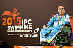 KOL Anton UKR at 2015 IPC Swimming World Championships -  Men's 50m Backstroke S1