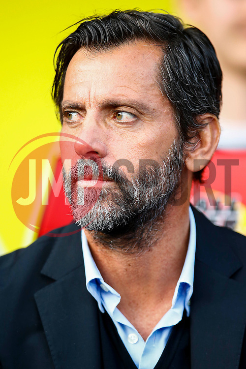 Watford manager Slavisa Jokanovic - Mandatory by-line: Jason Brown/JMP - Mobile 07966 386802 31/07/2015 - SPORT - FOOTBALL - Watford, Vicarage Road - Watford v Sevilla - Pre-Season Friendly