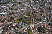 Nederland, Limburg, Venlo, 15-11-2010; Overzicht van het centrum van stadsdeel Blerick, (Smelienkamp) van Venlo..View on the District Blerick of Venlo..luchtfoto (toeslag), aerial photo (additional fee required).foto/photo Siebe Swart