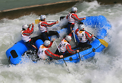 Women team White Water of Hungary at Euro Cup 2009 R6 Rafting in TT & H2H and Slovenian National Championship 2009, on April 4, 2009, in Tacen, Ljubljana, Slovenia. (Photo by Vid Ponikvar / Sportida)