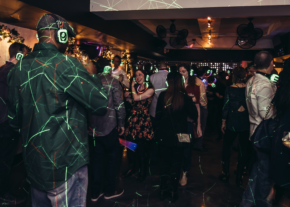 Photographs of Quiet Clubbing Night at Croton Tavern.