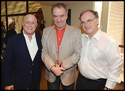 L to R Ronald O.Perelman, , Conductor Valery Gergiev, Sir Clive Gillinson attend the National Youth Orchestra of The United States of America Reception at the <br /> The Royal Albert Hall hosted be Ronald O.Perelman, London, United Kingdom,<br /> Sunday, 21st July 2013<br /> Picture by Andrew Parsons / i-Images