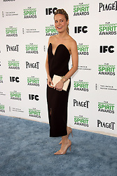 Brie Larson at the 2014 Film Independent Spirit Awards Arrivals, Santa Monica Beach, Santa Monica, United States, Saturday, 1st March 2014. Picture by Hollywood Bubbles / i-Images<br /> UK ONLY