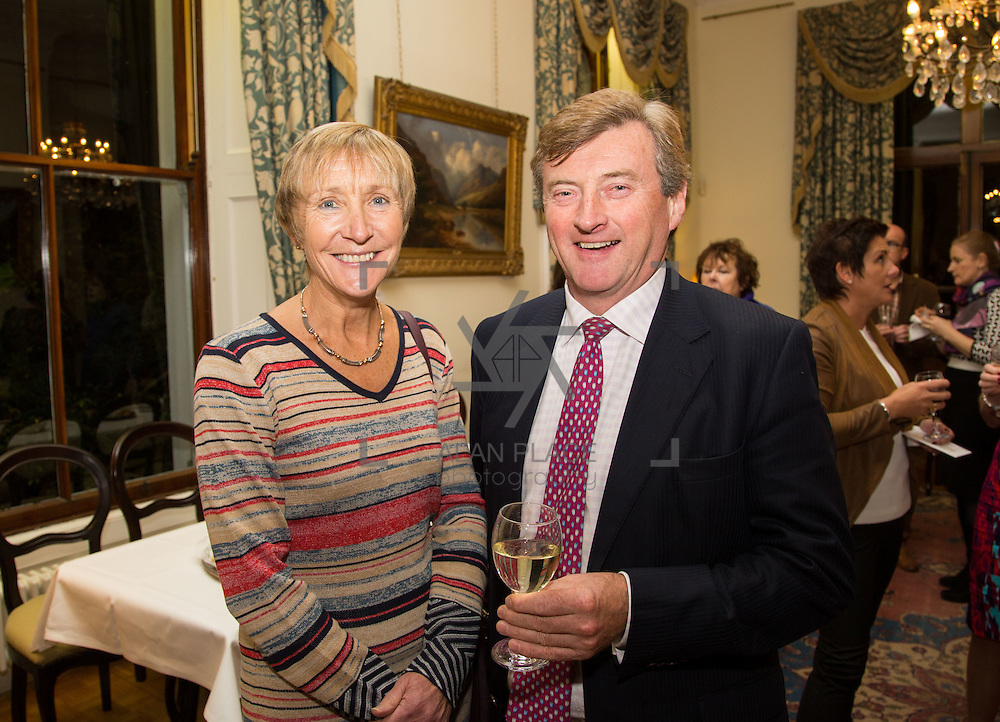 22.11.2016                   <br /> University of Limerick (UL) hosted a gala concert celebrating the music of renowned composer M&iacute;che&aacute;l &Oacute; S&uacute;illeabh&aacute;in.<br /> <br /> Pictured at a special reception before the concert were, Maureen and Ralph Parkes.<br /> <br /> <br /> The RT&Eacute; Concert Orchestra, conducted by David Brophy, performed with M&iacute;che&aacute;l and a selection of special guests in University Concert Hall Limerick. Picture: Alan Place