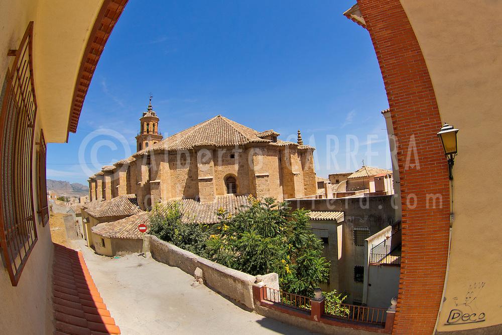 Alberto Carrera, Church of Our Lady Saint Mary of Incarnation, Baza, Granada, Andalucía, Spain, Europe