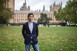 © Licensed to London News Pictures. 04/10/2019. London, UK. Rory Stewart in Westminster. Rory Stewart has announced his resignation from the Conservative Party and his intention to stand as an independent candidate for Mayor of London. Photo credit: Rob Pinney/LNP