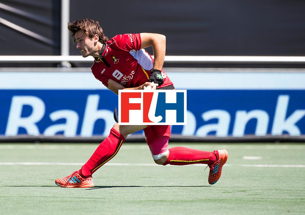 BREDA - Arthur van Doren (Bel)  . Belgie-Pakistan om de 5e plaats . Belgie wint shoot-outs. COPYRIGHT  KOEN SUYK