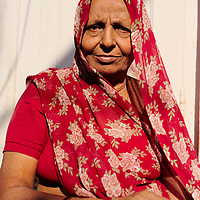 Woman in the streets of Jodhpur old town