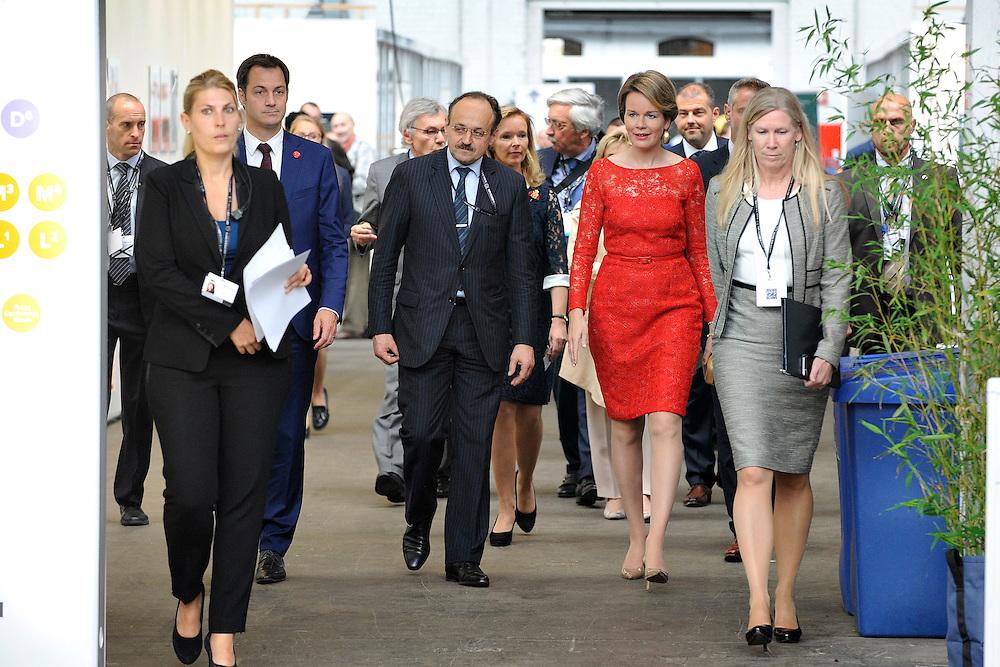 20160616 - Brussels , Belgium - 2016 June 16th - European Development Days - Visit of Her Majesty Mathilde the Queen of Belgians © European Union