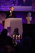 Sir Nicholas Serota CH, Chairman of Arts Council England<br /> speaks at the RPS Music Award, London, Tuesday 9 May<br /> Photo credit required:  Simon Jay Price<br /> www.rpsmusicawards.com  #RPSMusicAwards