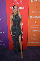 September 12, 2019, New York, NY, USA: September 12, 2019  New York City..Bregje Heinen attending the 5th annual Diamond Ball benefit gala at Cipriani Wall Street on September 12, 2019 in New York City. (Credit Image: © Kristin Callahan/Ace Pictures via ZUMA Press)