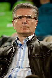 Franjo Bobinac president of RZS during handball match between Women National Teams of Slovenia and Czech Republic of 4th Round of EURO 2012 Qualifications, on March 25, 2012, in Arena Stozice, Ljubljana, Slovenia. (Photo by Urban Urbanc / Sportida.com)