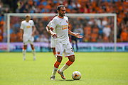 Hull's Ahmed Elmohamady during the Sky Bet Championship match between Wolverhampton Wanderers and Hull City at Molineux, Wolverhampton, England on 16 August 2015. Photo by Shane Healey.