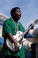 Afroman performs at the University of California in San Diego, California.