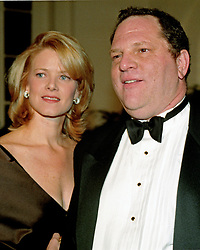 Miramax Films Co-chairman Harvey Weinstein and his wife, Eve Chilton Weinstein, arrive at the White House in Washington, DC for the State Dinner honoring Chinese President Jiang Zemin on October 29, 1997.<br /> (Photo by Ron Sachs / CNP/ Sipa USA)