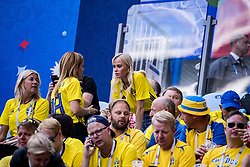 July 3, 2018 - Stockholm St Peterburg, Sweden Russia - FIFA WORLD CUP 2018 Sweden defeated Switzerland 1-0 in St Petersburg, Russia and are ready for the quarter final. VM 2018 i Ryssland. Sverige - Schweiz, 1 - 0, Ã¥ttondelsfinal, match action landslaget. Foto : PETWIX : VM Ryssland 2018 ( Sankt Petersburg ). Sverige-schweiz. 1-0. Spelarfruar (Credit Image: © WixtrÖM Peter/Aftonbladet/IBL via ZUMA Wire)