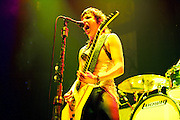 Halestorm performing at Uproar Festival at Nationwide Arena in Columbus, OH on August 24, 2010