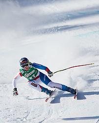 12.01.2013, Karl Schranz Abfahrt, St. Anton, AUT, FIS Weltcup Ski Alpin, Abfahrt, Damen im Bild Fraenzi Aufdenblatten (SUI) // Fraenzi Aufdenblatten of Switzerland in action during ladies Downhill of the FIS Ski Alpine World Cup at the Karl Schranz course, St. Anton, Austria on 2013/01/12. EXPA Pictures © 2013, PhotoCredit: EXPA/ Johann Groder
