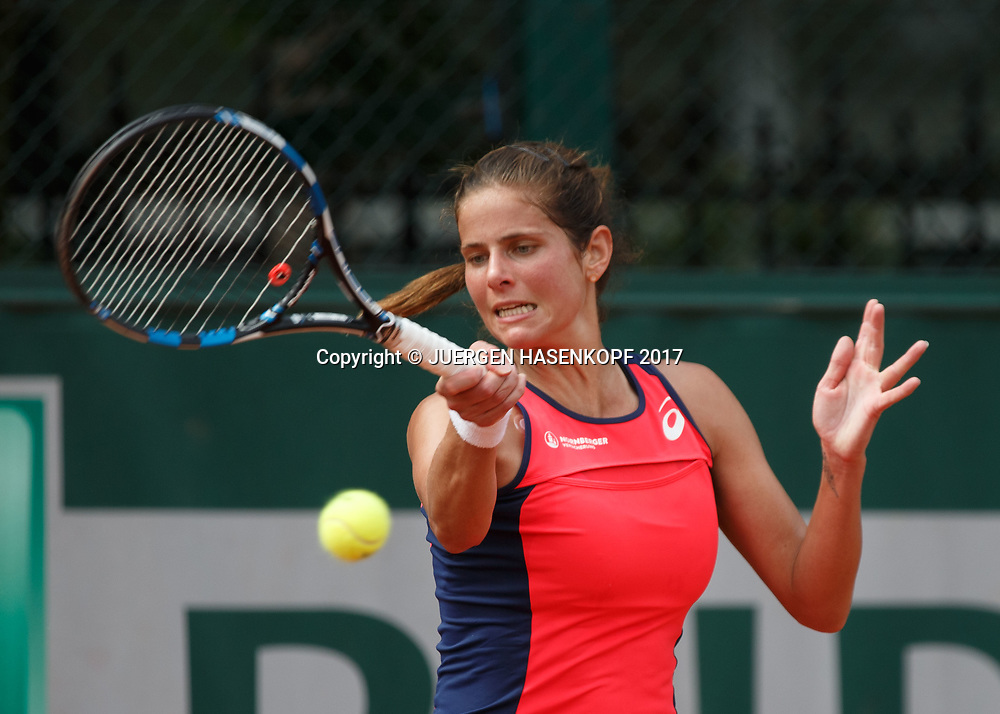 JULIA GOERGES (GER)<br /> <br /> Tennis - French Open 2017 - Grand Slam ATP / WTA -  Roland Garros - Paris -  - France  - 28 May 2017.