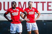 KERKRADE - 20-11-2016, Roda JC - AZ, Park Stad Limburg Stadion, teleurstelling na de 1-0, AZ speler Derrick Luckassen, AZ speler Ron Vlaar.