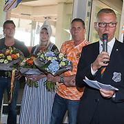 NLD/Volendam/20130612 - Opening Uniek Volendam, bestuur FC Volendam