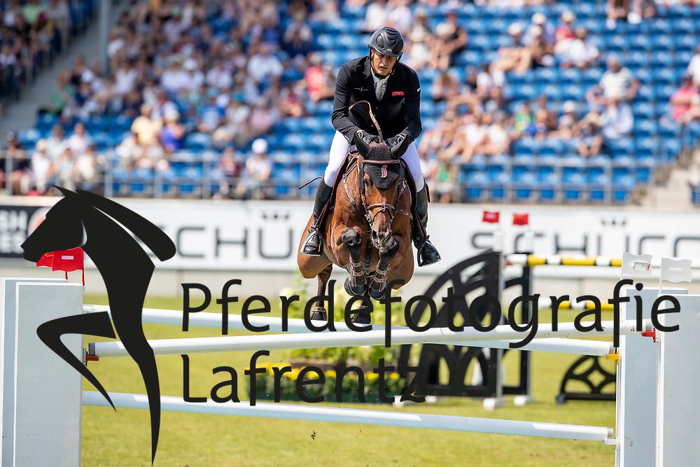 HOUTZAGER Marc (NED), Sterrehof's Calimero<br /> Aachen - CHIO 2018<br /> Preis von Nordrhein-Westfalen<br /> 20. Juli 2018<br /> © www.sportfotos-lafrentz.de/Stefan Lafrentz