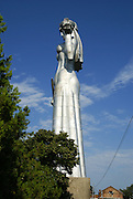 Georgia, Tbilisi, The aluminium statue of Kartlis Deda (the Mother of Kartli or the Mother of Georgia) by Elguja Amashukeli 1958