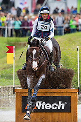 Phillip Dutton, (USA), Trading Aces - Eventing Cross Country test- Alltech FEI World Equestrian Games™ 2014 - Normandy, France.<br /> © Hippo Foto Team - Leanjo de Koster<br /> 30/08/14