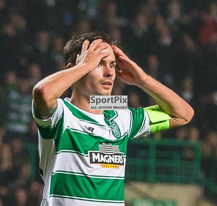 Mikael Lustig during the UEFA Europa League group stage match between Celtic and Molde FK (c) ROSS EAGLESHAM | Sportpix.co.uk