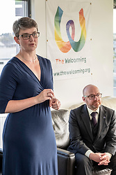 Pictured: Maggie Chapman and Patrick Harvie<br />