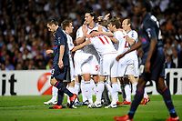 FOOTBALL - UEFA CHAMPIONS LEAGUE 2009/2010 - 1/2 FINAL - 2ND LEG - OLYMPIQUE LYONNAIS v BAYERN MUNCHEN - 27/04/2010 - PHOTO GUY JEFFROY / DPPI - JOY BAYERN