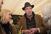 MERIBETH PARKER; JEREMY CLARKSON, The Heythrop Hunt Point to Point. Cocklebarrow. 24 January 2016