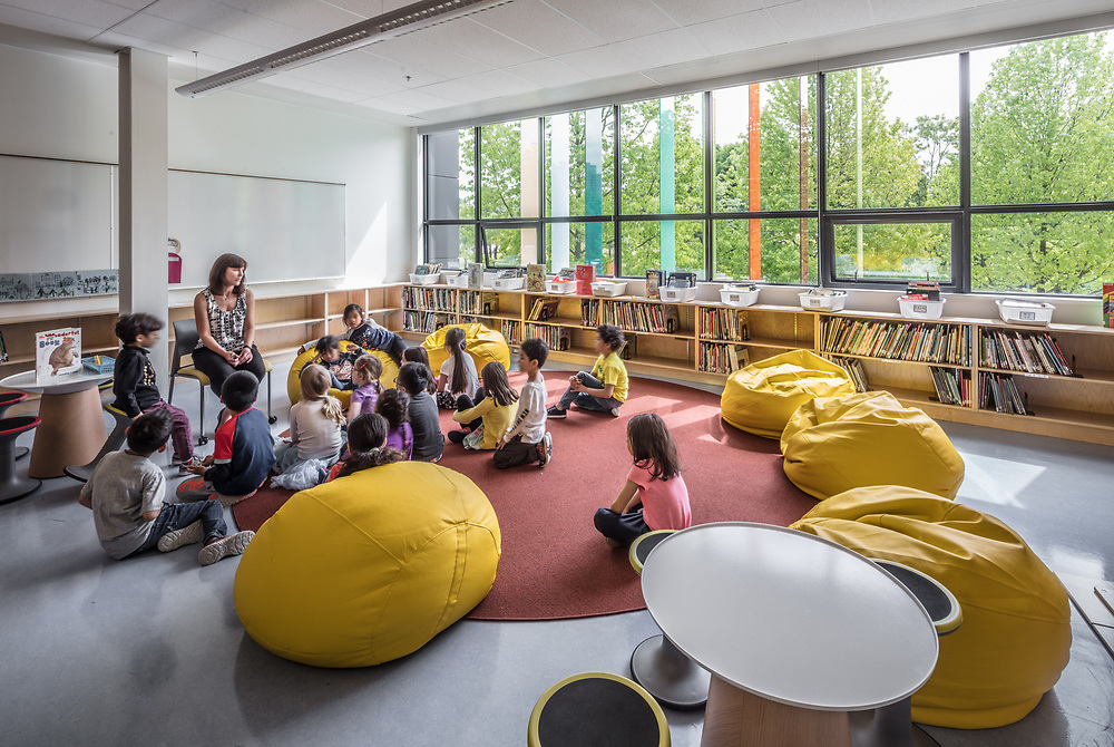 Crosstown Elementary School, Vancouver, BC | Pre-occupancy Interiors | Francl Architecture | 2017