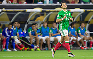 Javier Hernandez, known as Chicharito, gets in game as a substitute for Jesus Molina in the second half of group stage match of the Copa America Centenario against Venezuela at NRG Stadium in Houston, Texas, on Monday June 13, 2016.