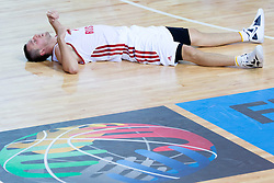 04.09.2013, Arena Bonifka, Koper, SLO, Eurobasket EM 2013, Russland vs Italien, im Bild Vitaliy Fridzon #7 of Russia // during Eurobasket EM 2013 match between Russia and Italy at Arena Bonifka in Koper, Slowenia on 2013/09/04. EXPA Pictures © 2013, PhotoCredit: EXPA/ Sportida/ Matic Klansek Velej<br /> <br /> ***** ATTENTION - OUT OF SLO *****
