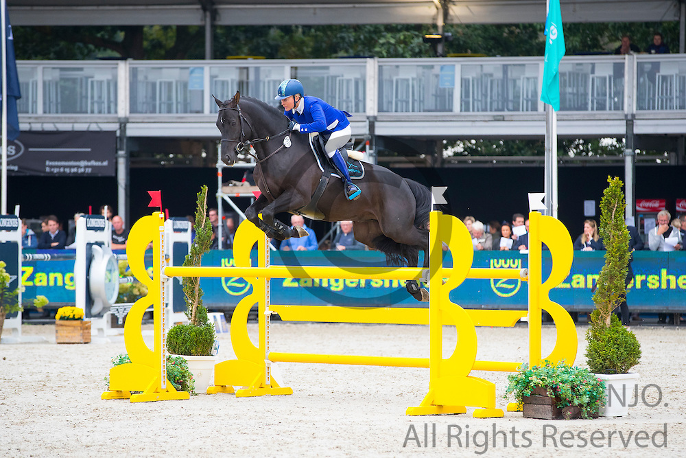 Carron Nicol - Galerius<br /> FEI World Breeding Jumping Championships for Young Horses 2016<br /> © DigiShots