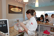 Grand Opening of baked in a cup shop in Ramsey, New Jersey on April 30, 2011.