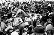 Crowd at Bindoon Festival W.Australia 1990's.