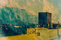 Landship. Fine art photography of Downtown Rio de Janeiro.