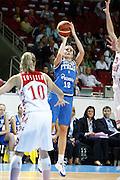 DESCRIZIONE : Riga Latvia Lettonia Eurobasket Women 2009 Qualifying Round Russia Italia Russia Italy<br /> GIOCATORE : Raffaella Masciadri<br /> SQUADRA : Italia Italy<br /> EVENTO : Eurobasket Women 2009 Campionati Europei Donne 2009 <br /> GARA : Russia Italia Russia Italy<br /> DATA : 14/06/2009 <br /> CATEGORIA : tiro<br /> SPORT : Pallacanestro <br /> AUTORE : Agenzia Ciamillo-Castoria/E.Castoria<br /> Galleria : Eurobasket Women 2009 <br /> Fotonotizia : Riga Latvia Lettonia Eurobasket Women 2009 Qualifying Round Russia Italia Russia Italy<br /> Predefinita :