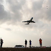 President Trump departs Palm Beach International Airport on Air Force One. The President is spending his third weekend in a row in Mar-a-Lago, his winter White House  in Palm Beach.<br /> Photography by Jose More