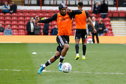 during the EFL Sky Bet Championship match between Brentford and Ipswich Town at Griffin Park, London, England on 7 April 2018. Picture by Andy Walter.