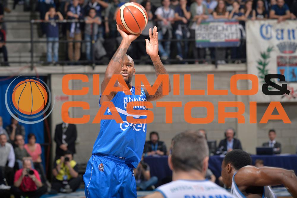 Amath M Baye<br /> Mia Pallacanestro Cantu - Enel New Basket Brindisi<br /> Lega Basket Serie A 2016/2017<br /> Desio, 19/03/2017<br /> Foto M.Ceretti / Ciamillo - Castoria