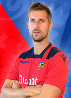 Francois Clerc during photoshooting of Gazelec Ajaccio for new season 2017/2018 on September 26, 2017 in Ajaccio<br /> Photo : Gfca / Icon Sport