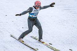 22.02.2019, Bergiselschanze, Innsbruck, AUT, FIS Weltmeisterschaften Ski Nordisch, Seefeld 2019, Skisprung, Herren, im Bild Karl Geiger (GER) // Karl Geiger of Germany during the men's Skijumping of FIS Nordic Ski World Championships 2019. Bergiselschanze in Innsbruck, Austria on 2019/02/22. EXPA Pictures © 2019, PhotoCredit: EXPA/ Dominik Angerer