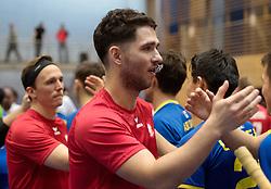BERLIN - Indoor Hockey World Cup<br /> Kazakhstan - Poland<br /> foto: Line Up<br /> WORLDSPORTPICS COPYRIGHT FRANK UIJLENBROEK